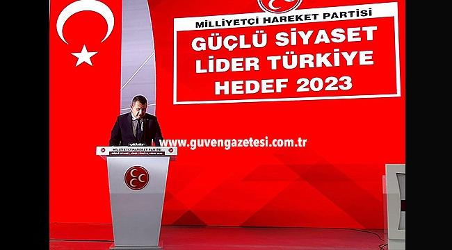 """Milletvekili Karadağ: """"Milliyetçi Hareket Yüce Türk Milletinin Emrindedir"""""""