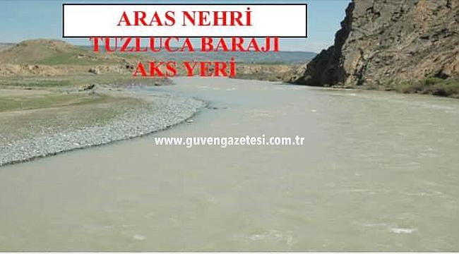 Tuzluca Barajı Dosyası Cumhurbaşkanlığı Bütçesine Gönderildi