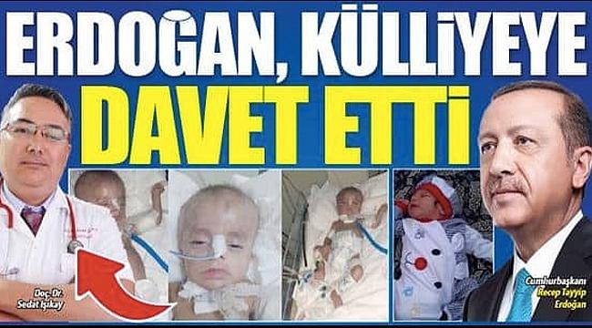 Cumhurbaşkanı Erdoğan Iğdır'ın Gururu Dr. Işıkay'ı Külliye'ye Davet Etti